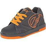 Heelys Propel 2.0 - Zapatos para Niño - Gris /Gris / Naranja