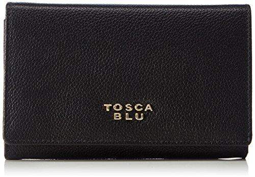 Tosca Blu MELISSA - Portafogli da donna, Nero (Schwarz (BLACK C99)), 16x11x1 cm