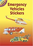 img - for Emergency Vehicles Stickers (Dover Little Activity Books Stickers) book / textbook / text book