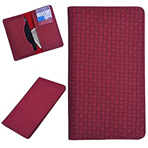 DCR Pu Leather case cover for Blu Life One X (red)