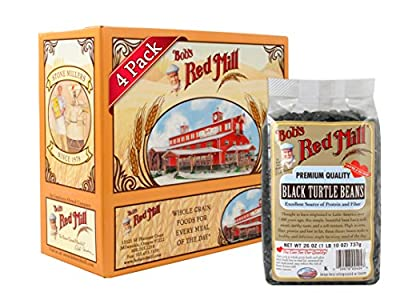 Bob's Red Mill Black Turtle Beans, 26-ounce (Pack of 4) from Bob's Red Mill