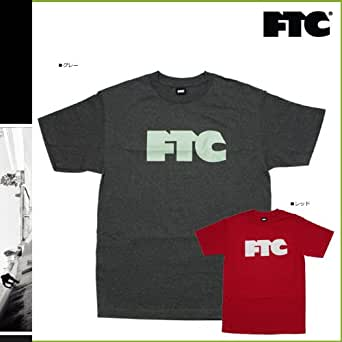 (エフティーシー)FTC 半袖Tシャツ [グレー レッド] F-T01(エフティーシー)FTC PR PLATNUM KUSH コットン メンズ XL レッド(並行輸入品)