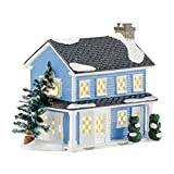 Department 56 Original Snow Village Todd and Margo's House, 7.05-Inch