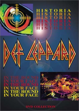 Def Leppard - Def Leppard: Historia/In the Round in Your Face [2001] (REGION 1) (NTSC) - Zortam Music