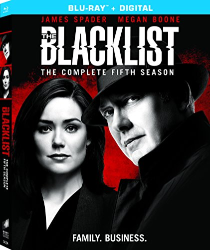 Blu-ray : The Blacklist: Season Five (Boxed Set, Ultraviolet Digital Copy, 5PC)