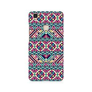 Ebby Tribal Aztec Premium Printed Case For Vivo V3 Max