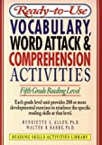 img - for Ready-To-Use Vocabulary, Word Analysis & Comprehension Activities: Fifth Grade Reading Level (Reading Skills Activities Library) book / textbook / text book