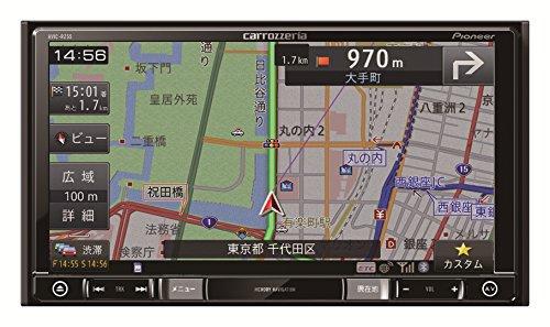 Pioneer 7V型ワイドVGAワンセグTV/DVD-V/CD/Bluetooth/SD/チューナー・DSP AV一体型メモリーナビゲーション AVIC-RZ55