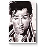 PosterGuy Shammi Kapoor Bollywood Painting Bollywood, Famous Celebrities, Paintings, Bollywood Sketch, Bollywood Paintings Poster