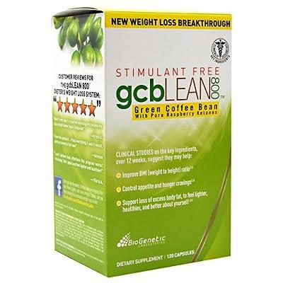BioGenetic Laboratories - GCB Lean 800 Green Coffee Bean - 120 Capsules