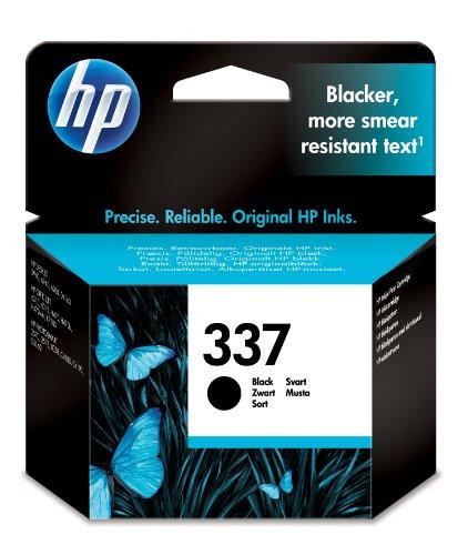 HP - 337 - CARTOUCHE D'ENCRE D'ORIGINE - 1 X NOIR - 400 PAGES