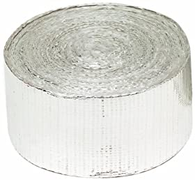 "Heatshield Products 340001 Thermaflect Tape 1-1/2"" Wide x 3' Heat Shield tape"