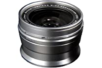 Fujifilm WCL-X100 Wide Conversion Lens (Silver)