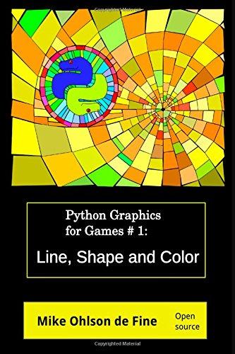 Python Graphics Games Creation #1 - Line, Shape and Color (Python Graphics for Games)