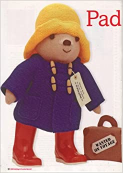 Paddington Bear by Alan Dart Toy Knitting Pattern: Measurements 48cm