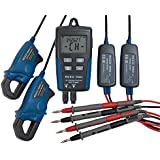 Reed R5003 AC Voltage and Current Data Logger, 600V AC Voltage, 200A Current