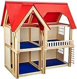 Selecta 4249 - Puppenhaus mit drei Etagen