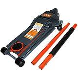 life_mart 油圧式 デュアルジャッキ 油圧式 3t 低位70mm~最高位500mm対応 ガレージジャッキ
