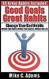 Good Goals, Great Habits: Change your Bad habits, Improve your power, improve your success, improve your life