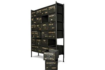 Commode métal d'atelier 24 tiroirs