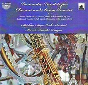 Romantic Quintets for Clarinet & String Quartet