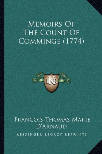 Memoirs of the Count of Comminge (1774)