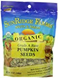 Sunridge Farms Organic Raw Pumpkin Seeds, 7-Ounce Bags (Pack of 12)