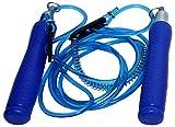 JSI Plastic Skipping Rope (JSI22__Blue, Blue)
