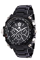 IIK Collection Analogue Round Black Dial MEN's Watch-IIK035M