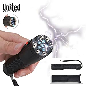 United Cutlery UC2697 Shocklight Stun Gun Flashlight with Pouch