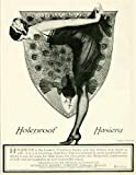 1924 Ad Coles Phillips Art Holeproof Hosiery Peacock Womens Fashion Clothing - Original Print Ad