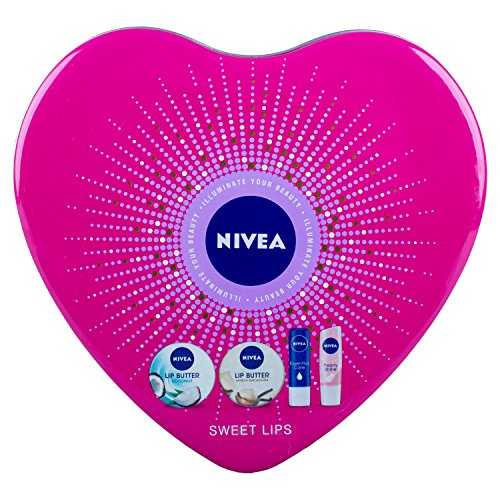 Nivea Sweet Lips 4-Piece Gift Set
