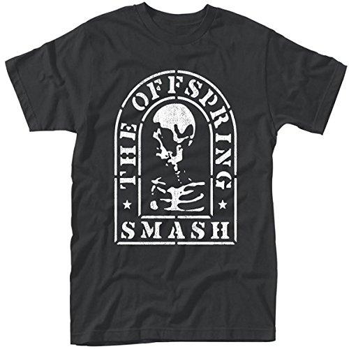 Plastic Head Offspring, the Smash, T-Shirt Uomo, Nero, Small