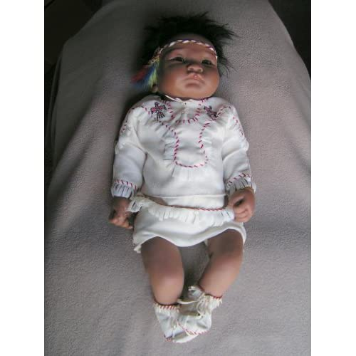 "Ashton-Drake Baby Raven Wing, First ""So Truely Real"" Native American"
