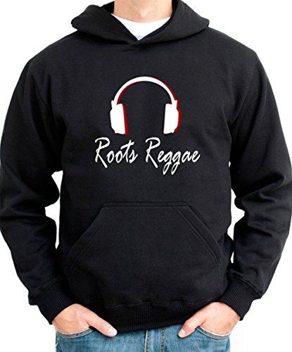 Roots Reggae Headphones Men Hoodie