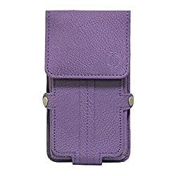Jo Jo A6 G8 Series Leather Pouch Holster Case For HTC Desire 728 Dual SIM Purple