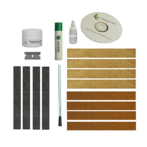 Clarinet Joint Cork Kit, Complete, All Natural Cork! (Clarinet Parts compare prices)