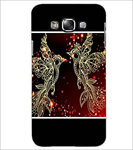 PrintDhaba Beautiful Birds D-1345 Back Case Cover for SAMSUNG GALAXY GRAND 3 (Multi-Coloured)
