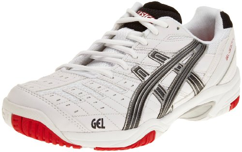 Asics Men's Gel Dedicate 2 M White/Black/Silver Tennis Shoe E106Y0190 7 UK