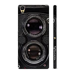 Enthopia Designer Hardshell Case Vintage Camera 3 Back Cover for Sony Xperia C6