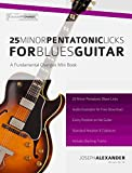 25 Minor Pentatonic Licks for Blues Guitar (English Edition)