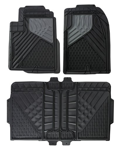 Hopkins 11179100 Go Gear Mid Size Heavy Duty Black Floor Mats (4 Piece Set) (Toyota Tacoma Floor Mats 2004 compare prices)