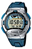 Casio W-753-2AVES Mens Digital Resin Strap Watch with Stop Watch
