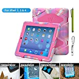 iPad case,ipad 2 case,ipad 3 case,TRAVELLOR [Earthquake Series] superior protection shockproof and dustproof anti-rain...