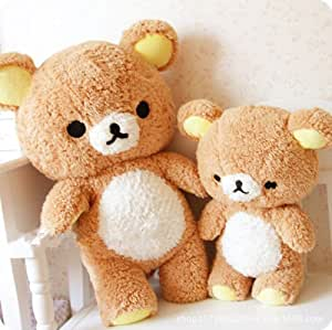 Amazon.com : 1 pcs Cute 55cm kawaii giant Rilakkuma Relax Bear plush