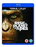 Rise of the Planet of the Apes - Triple Play (Blu-ray + DVD + Digital Copy) [Region Free]