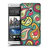 Head Case Blue Green Paisley Patterns Snap-on Back Case Cover For Htc One Mini