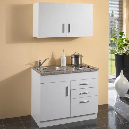 pantryk che mit kochplatten und oberschr nke ohne k hlschrank. Black Bedroom Furniture Sets. Home Design Ideas