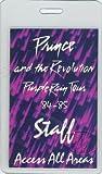 Prince 1984 Purple Backstage Laminated Backstage Pass