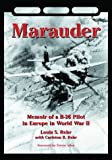 img - for Marauder: Memoir of a B-26 Pilot in Europe in World War II book / textbook / text book
